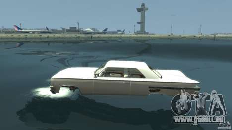 Voodoo Boat für GTA 4 linke Ansicht