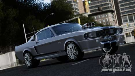 Ford Shelby Mustang GT500 Eleanor für GTA 4