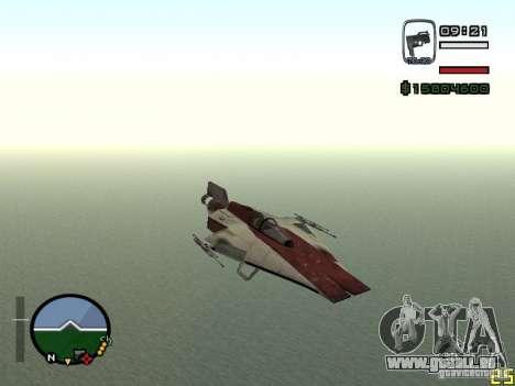 Chasseur de la ville de Alien pour GTA San Andreas