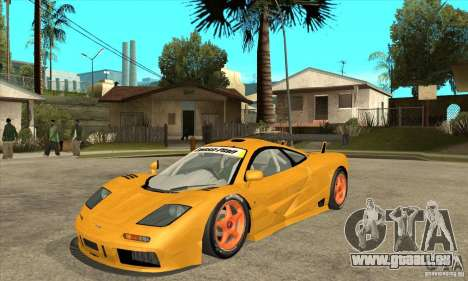 McLAREN F1 GTR GULF 1996 für GTA San Andreas