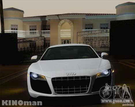 Audi R8 v10 2010 für GTA San Andreas Unteransicht