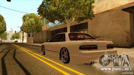 Nissan Silvia S13 MyGame Drift Team für GTA San Andreas Innenansicht