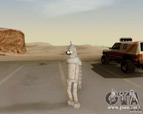 Futurama pour GTA San Andreas quatrième écran