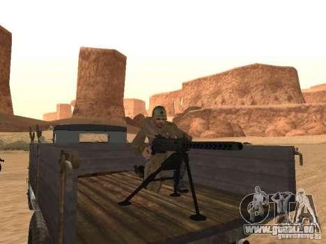 Un soldat soviétique pour GTA San Andreas