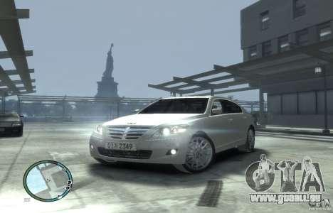 Hyundai Genesis Sedan Elite pour GTA 4