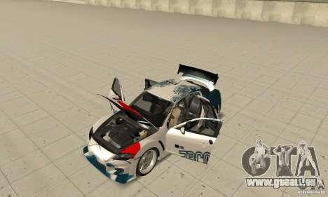 Mazda RX-8 NFS ProStreet für GTA San Andreas Innenansicht