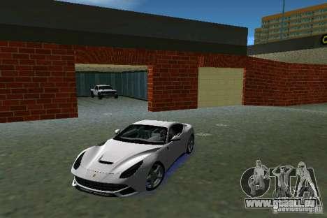 Ferrari F12 Berlinetta pour une vue GTA Vice City de la gauche