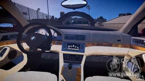 BMW M5 E39 Hamann [Beta] pour GTA 4 Vue arrière
