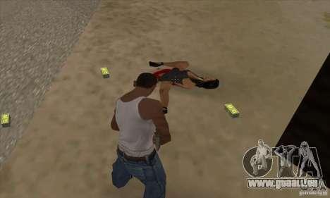 GTA SA Real ragdoll für GTA San Andreas dritten Screenshot