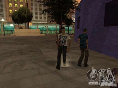 Black Stallion Peds für GTA San Andreas dritten Screenshot