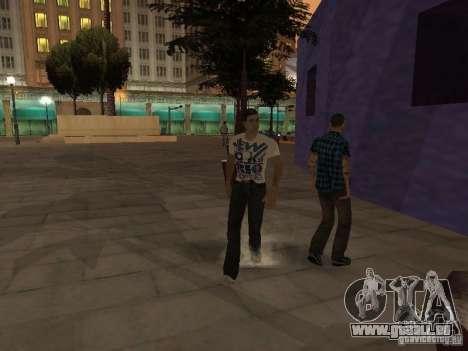 Black Stallion Peds für GTA San Andreas dritten Screenshot