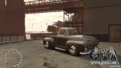 Declasse Hustler pour GTA 4 Vue arrière de la gauche