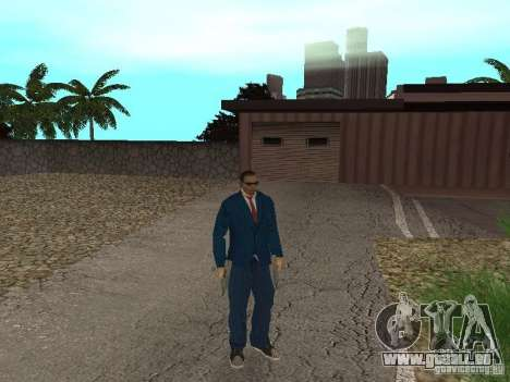 CJ Mafia Skin pour GTA San Andreas cinquième écran