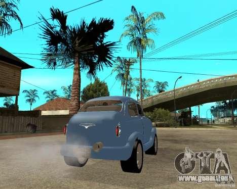 ZAZ 965 Zaporozhets HotRod für GTA San Andreas zurück linke Ansicht