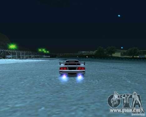 Azik Turismo pour GTA San Andreas vue arrière