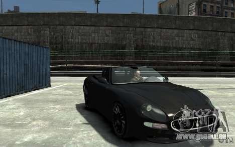 Maserati 3200 CampioCorsa für GTA 4 Rückansicht