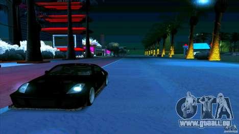 Nissan 350Z JDM pour GTA San Andreas vue de droite