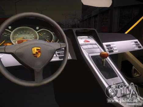 Porsche Carrera GT für GTA San Andreas rechten Ansicht