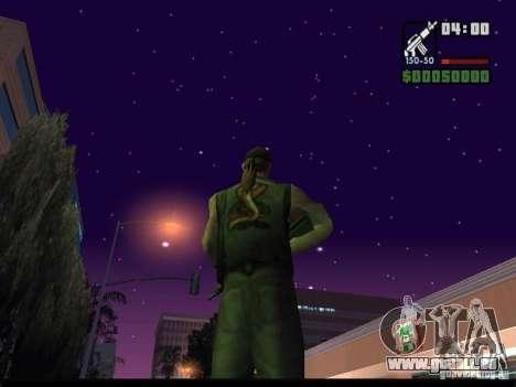 Ciel étoilé v2.0 (pour SA: MP) pour GTA San Andreas