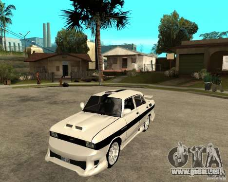 AZLK 2140 sous terre pour GTA San Andreas