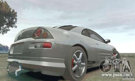 Mitsubishi Eclipse Spyder pour GTA 4 Vue arrière de la gauche