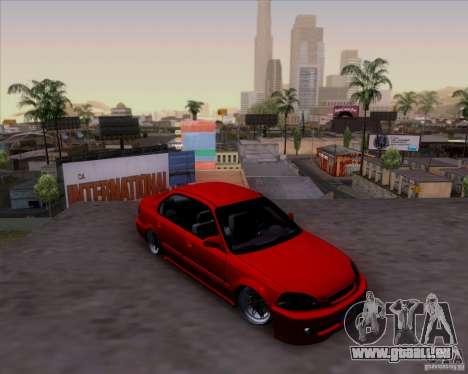 Honda Civic 16 LK 664 pour GTA San Andreas vue de côté