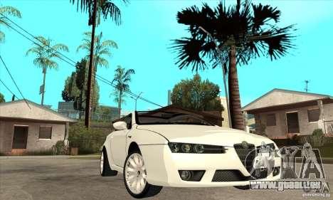 Alfa Romeo Brera pour GTA San Andreas vue arrière