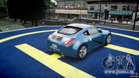 Nissan 370Z Coupe 2010 für GTA 4 Innen