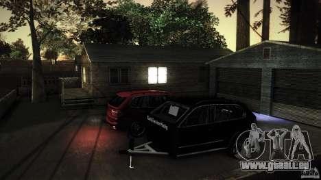 BEAM X5 Trailer für GTA San Andreas Innenansicht