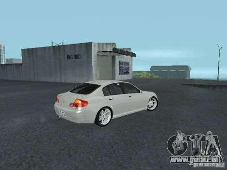 Nissan Skyline 300 GT pour GTA San Andreas vue de droite