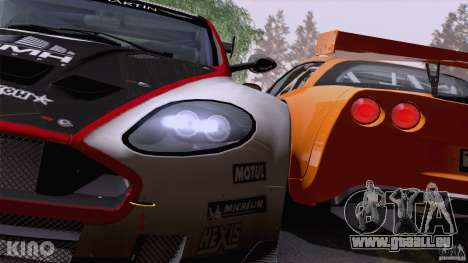 Aston Martin Racing DBRS9 GT3 für GTA San Andreas Räder