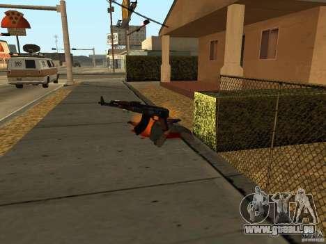 Inländischen Waffen-Version 1.5 für GTA San Andreas neunten Screenshot