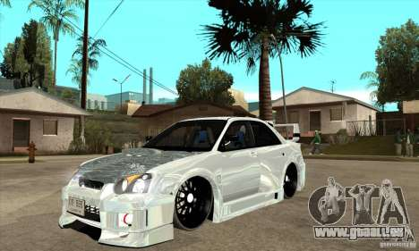 Subaru Impreza Tunned pour GTA San Andreas