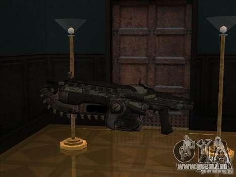 M4 de Gears of War pour GTA San Andreas