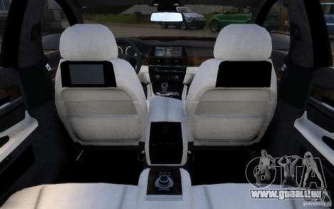 BMW 760Li 2011 pour le moteur de GTA 4