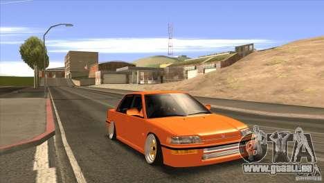 Honda Civic EF9 Sedan pour GTA San Andreas vue de droite