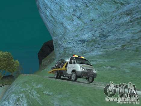GAZ 3302 2003-2011. Abschleppwagen für GTA San Andreas rechten Ansicht