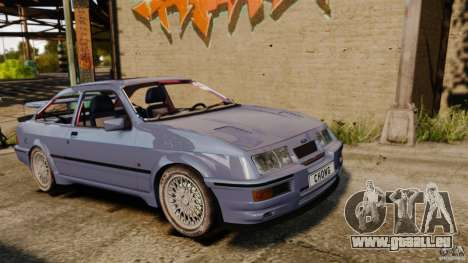 Ford Sierra RS500 Cosworth 1987 pour GTA 4