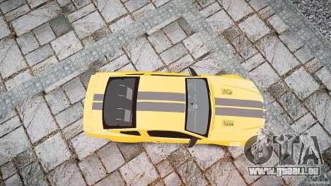 Shelby GT 500 KR 2008 K.I.T.T. für GTA 4 rechte Ansicht