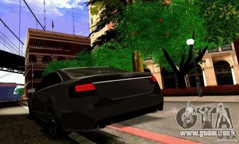 Audi A6 Blackstar pour GTA San Andreas moteur