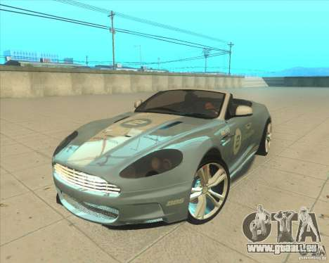 Aston Martin DBS Volante 2009 pour GTA San Andreas vue arrière