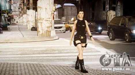 Angelina Jolie (Tomb Raider) pour GTA 4 secondes d'écran