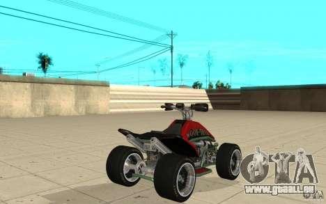 Powerquad_by-peau 2-MF Woofi pour GTA San Andreas sur la vue arrière gauche