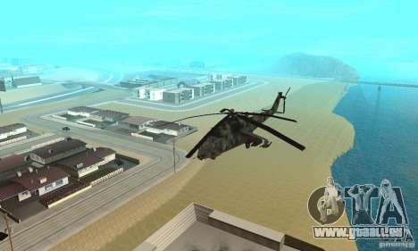 Black Ops Hind pour GTA San Andreas