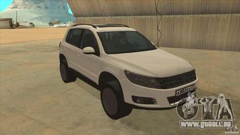 Volkswagen Tiguan 2012 v2.0 für GTA San Andreas Rückansicht