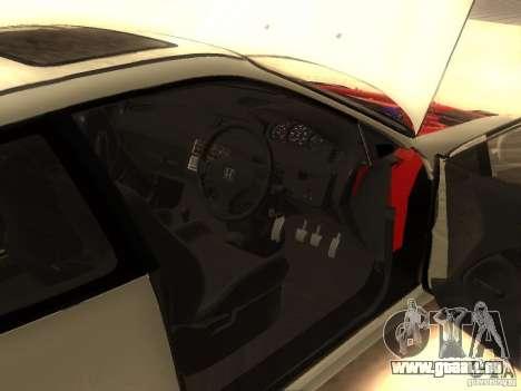 Honda Civic EG6 pour GTA San Andreas vue de droite