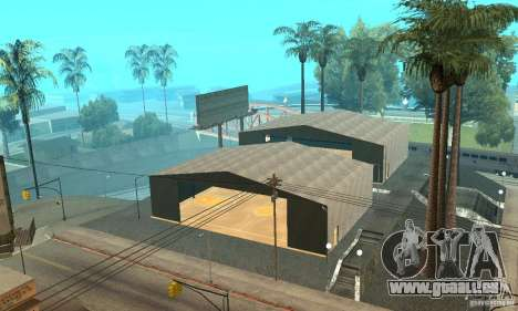 Basketball Court v6.0 für GTA San Andreas her Screenshot