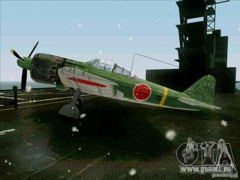 Avions japonais pour GTA San Andreas laissé vue