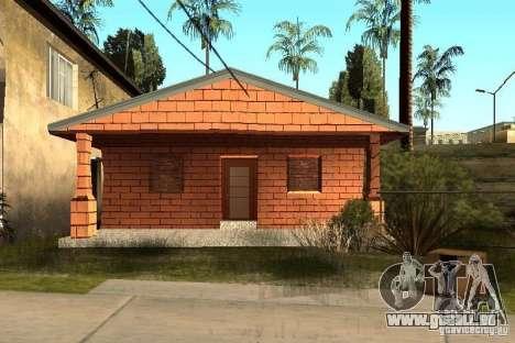 Neue Texturen der Häuser an der Grove Street für GTA San Andreas zweiten Screenshot