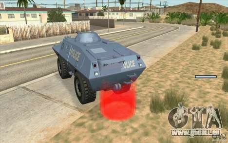 Wache auf BTR für GTA San Andreas dritten Screenshot